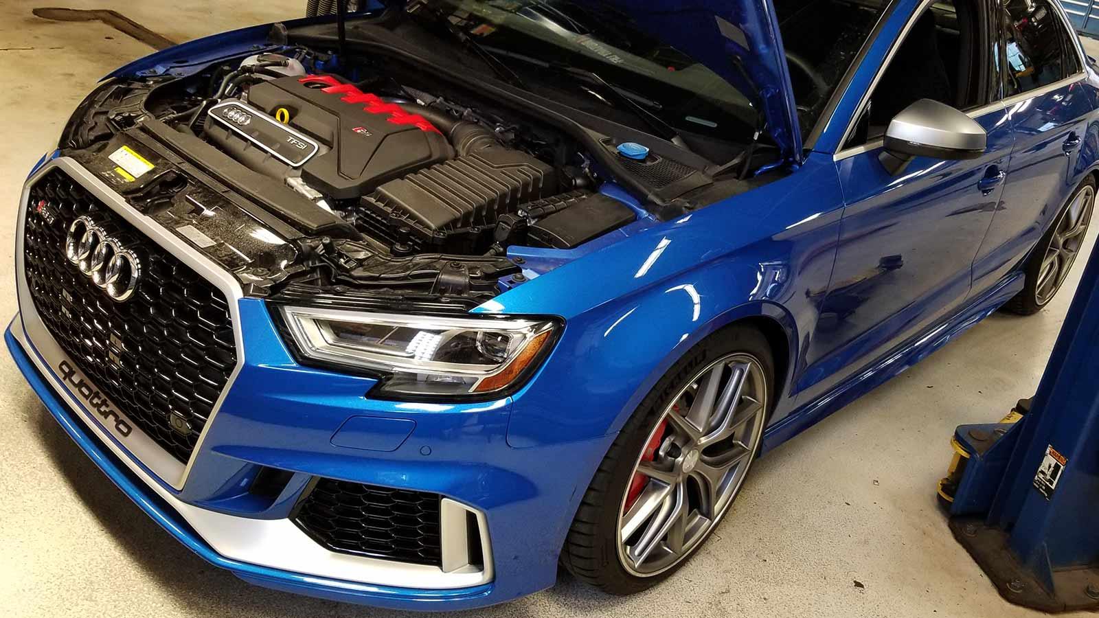 Ремонт и обслуживание Audi в автосервисе