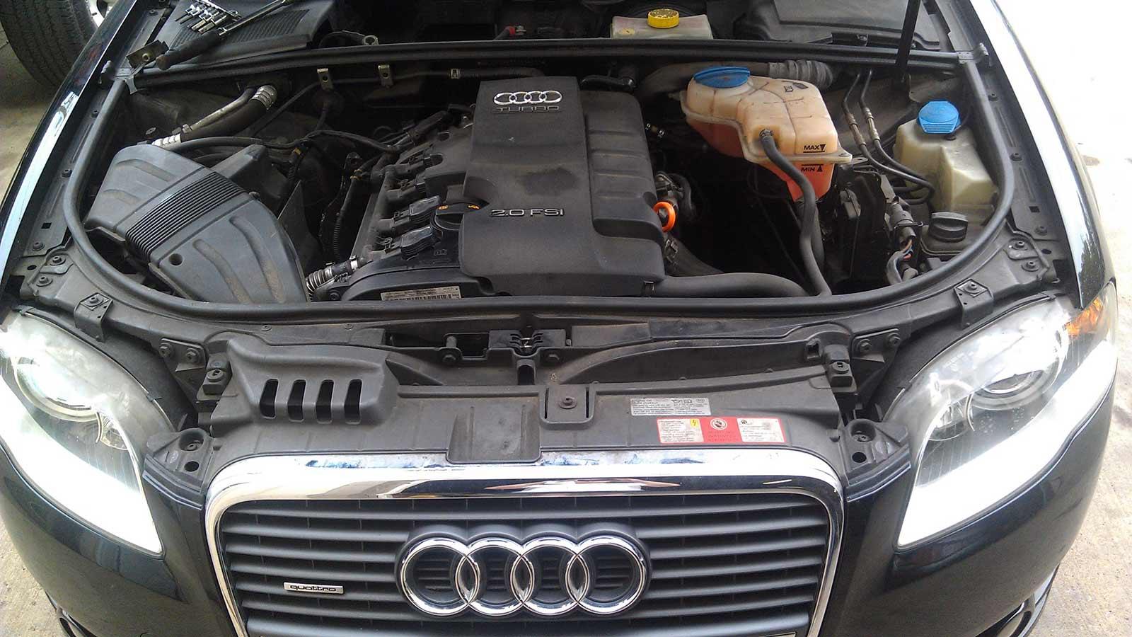 Ремонт двигателя, подвески Ауди в сервисе