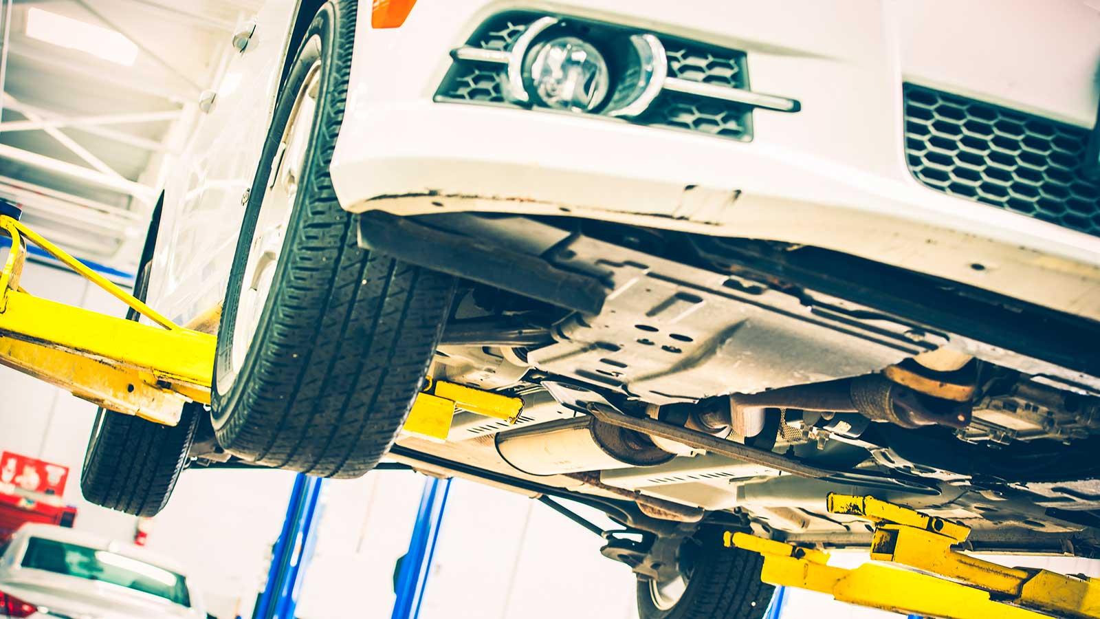 Ремонт передней и задней подвески автомобиля