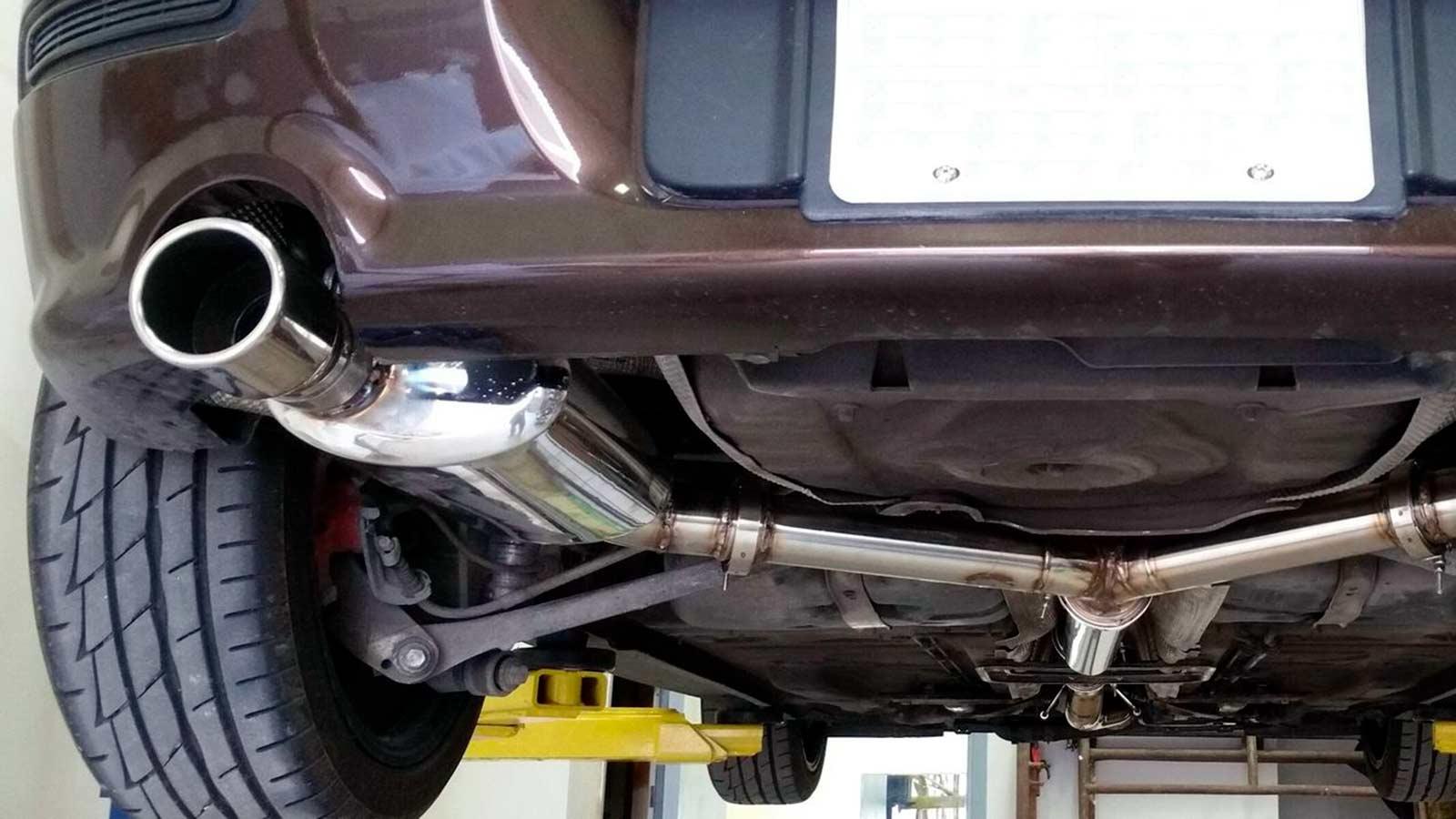 Ремонт выхлопных систем автомобилей