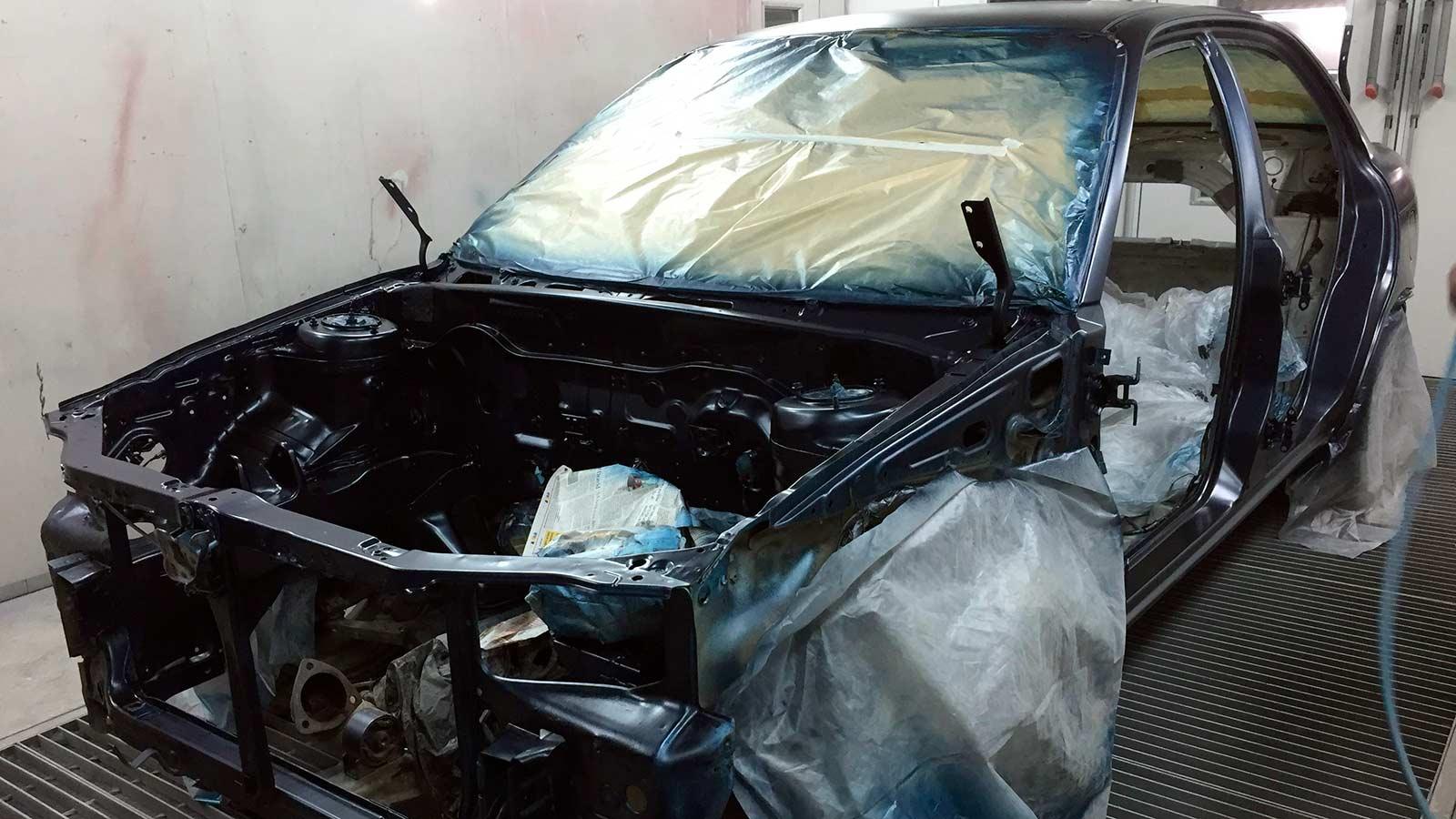 Кузовные работы и окраска авто СПБ