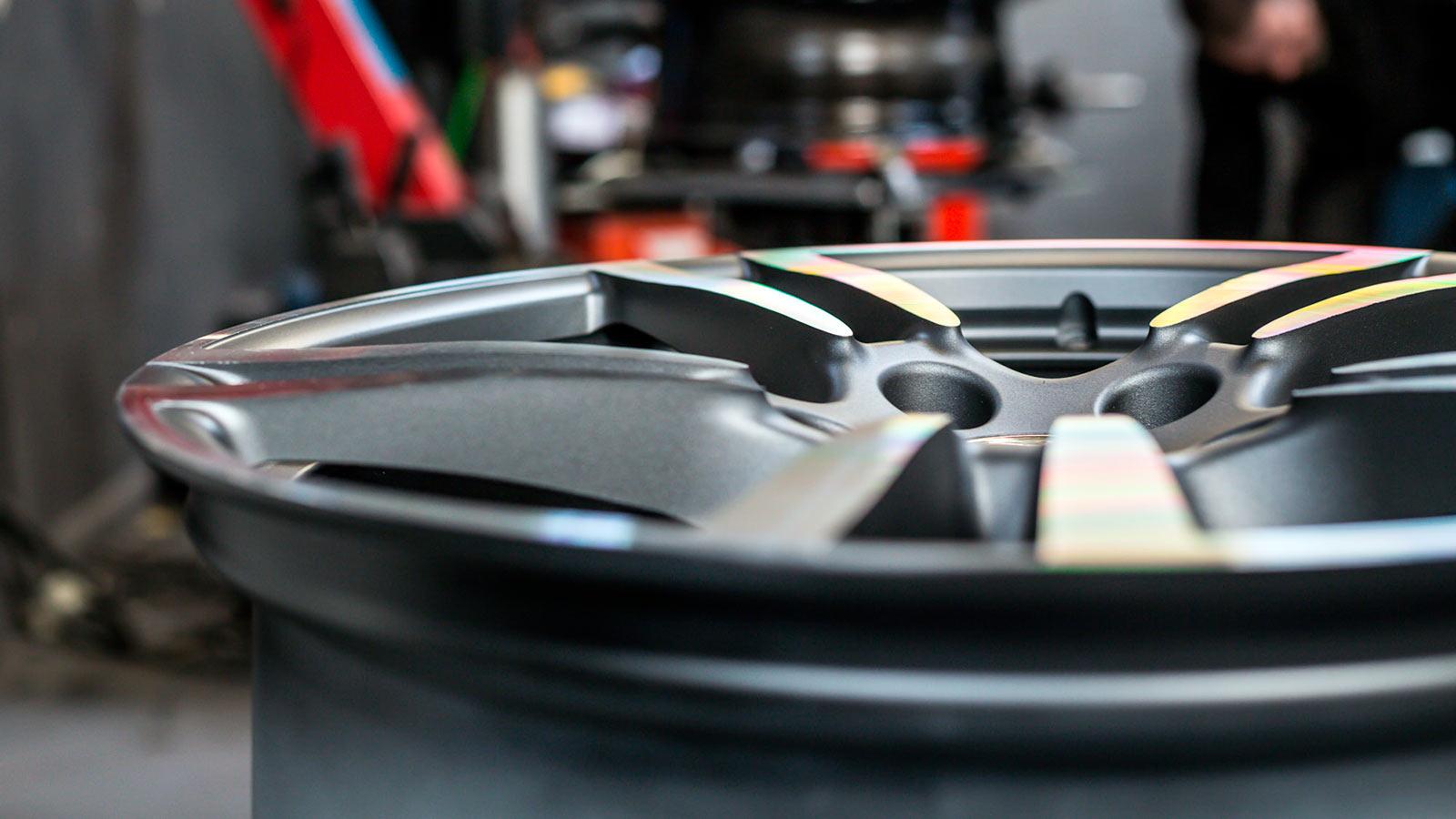 Правка, прокатка и рихтовка дисков