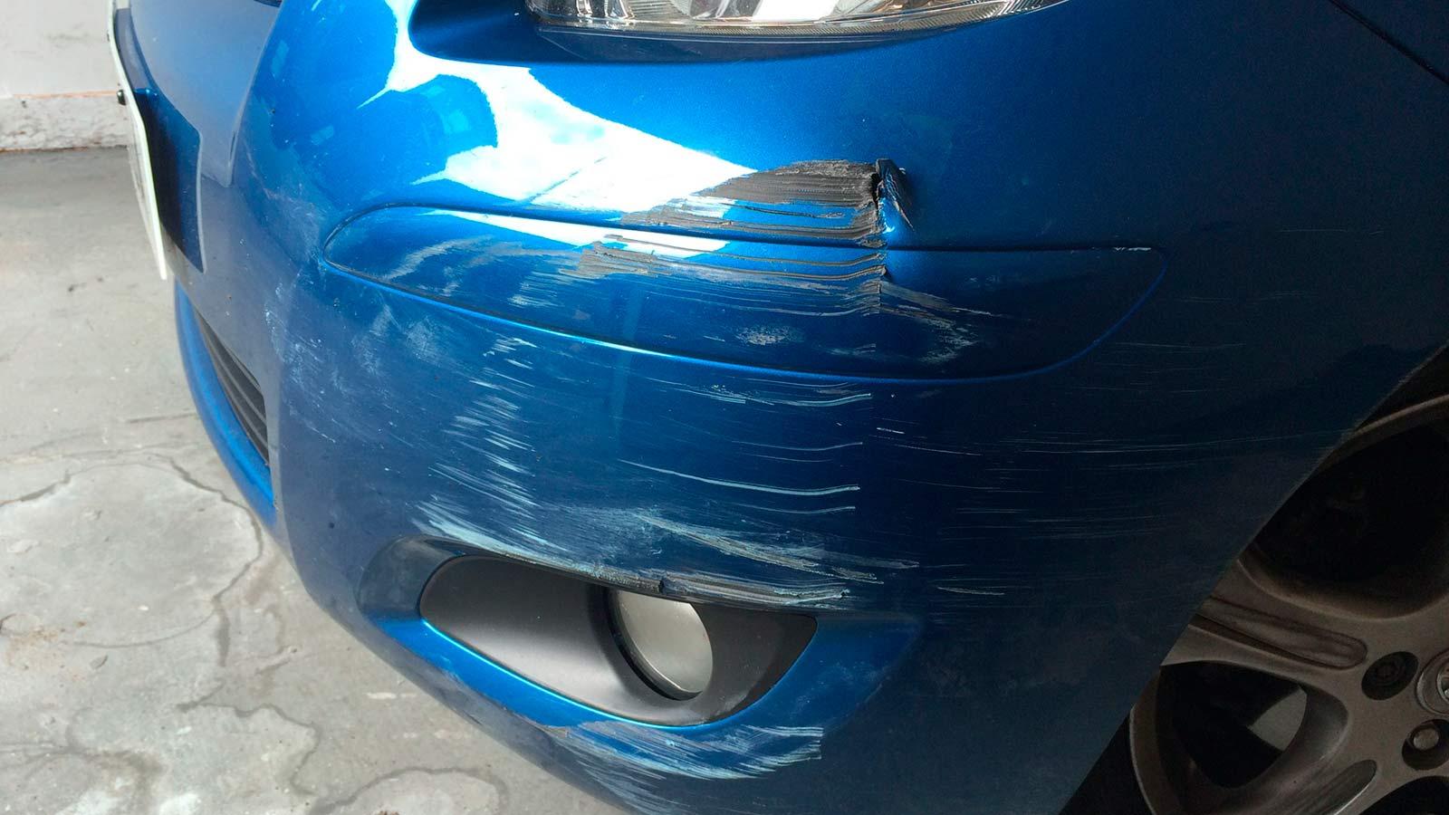 ремонт переднего и заднего бампера