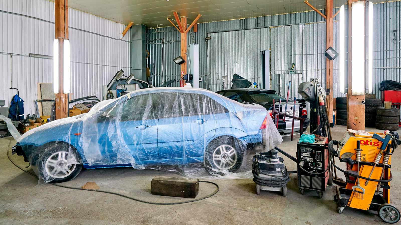 Скидка на ремонт и покраску кузова