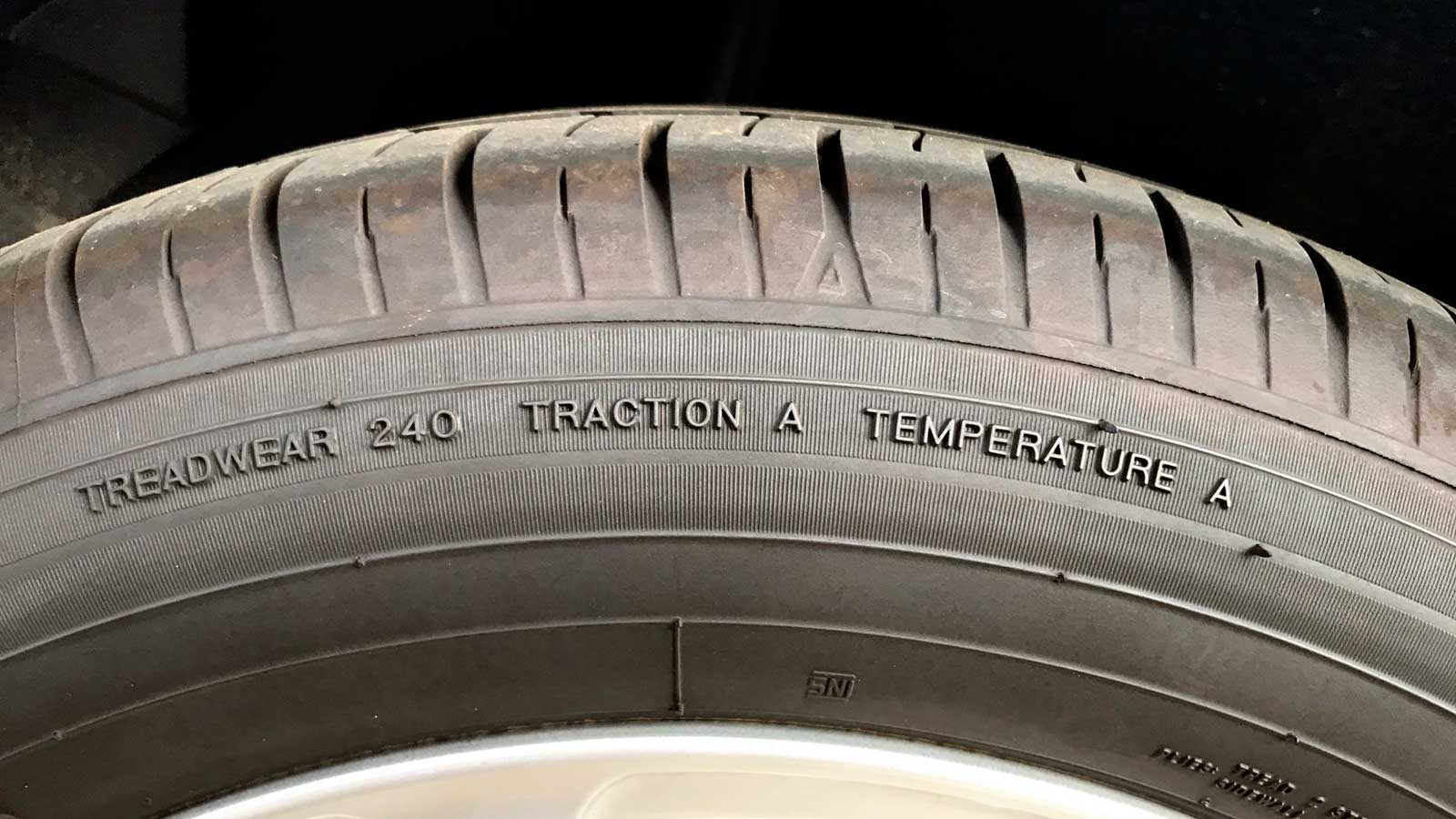 Какая информация содержится в маркировке шин?