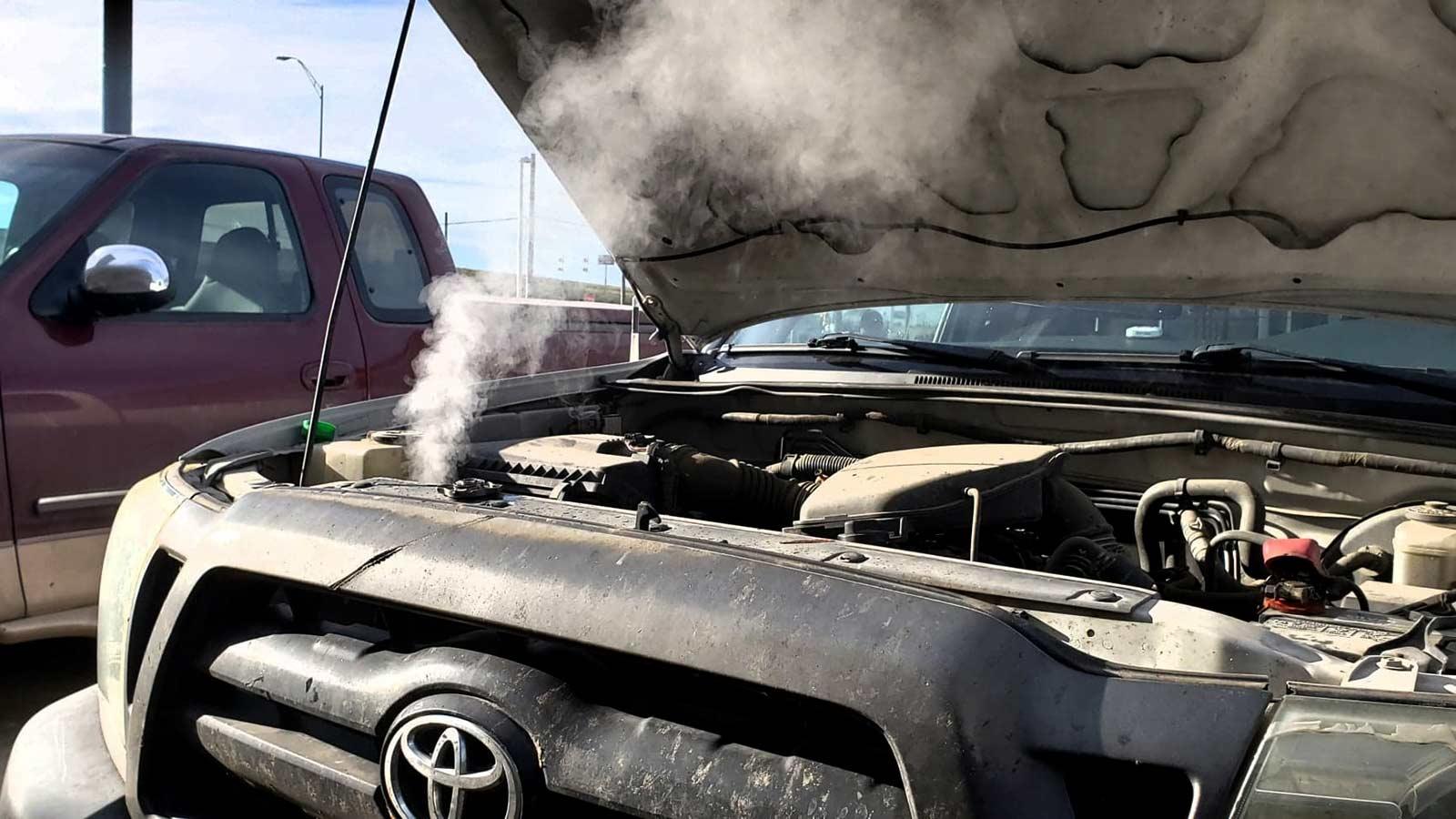 Как определить перегрев двигателя автомобиля